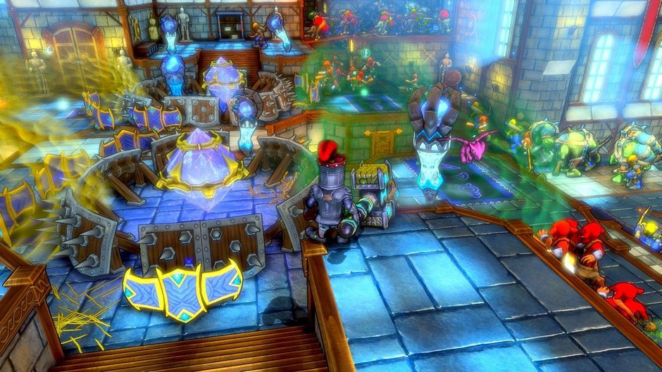 Dungeon defenders ps3 review console obsession - Dungeon defenders 2 console ...