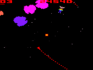 Asteroids with a twist