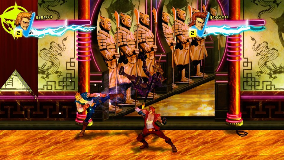 Double Dragon Neon Ps3 Review Console Obsession