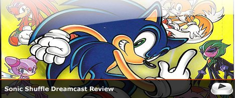 Sonic Shuffle Dreamcast Review
